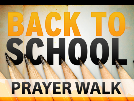 Back-to-School Prayer Walk