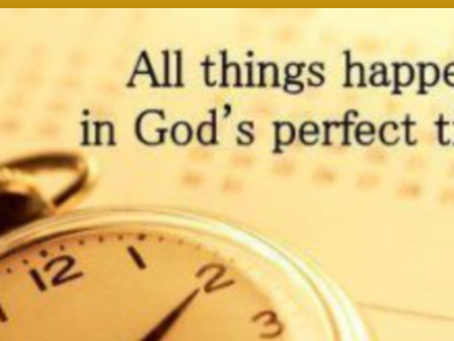 In God's Perfect Time