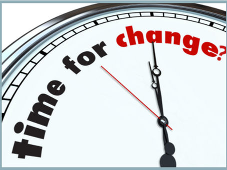 Time for Change?