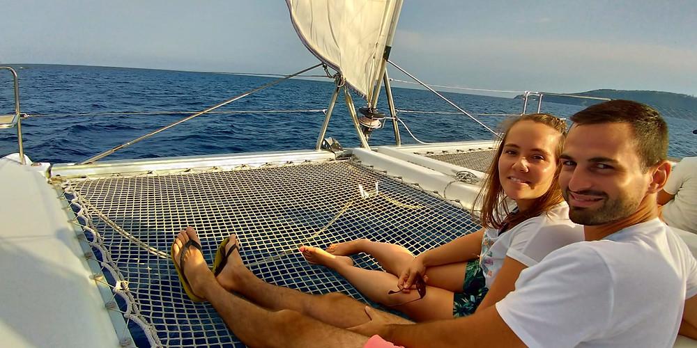 sortie catamaran de croisière à toulon