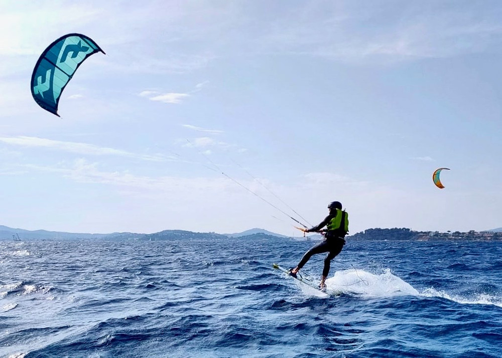 kite surf à toulon