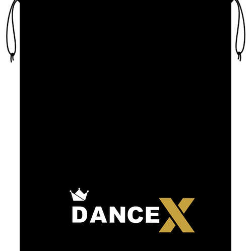 Dance X Drawstring Bag