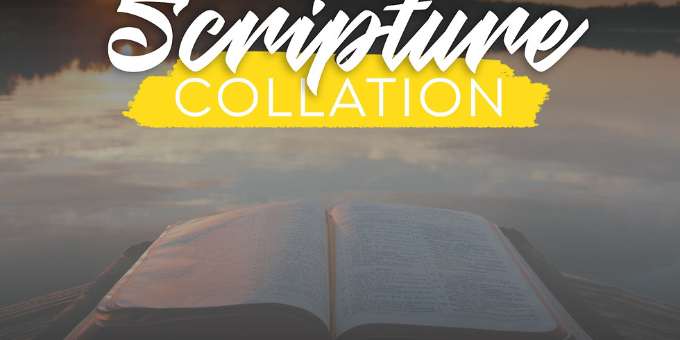 Scripture Collation with Bearing Precious Seed