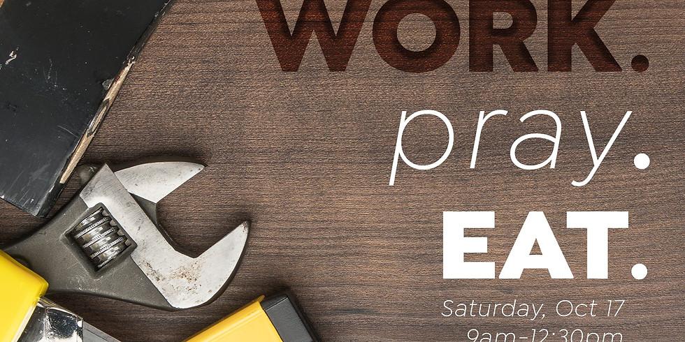 Work.Pray.Eat