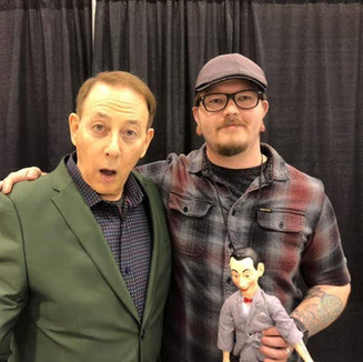 Brian and the one and only Pee Wee Herman