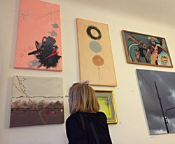 Kunstsalon Ausstellung UPSTAIRS
