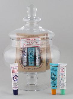 Rosebud Lip Balm Trio Box