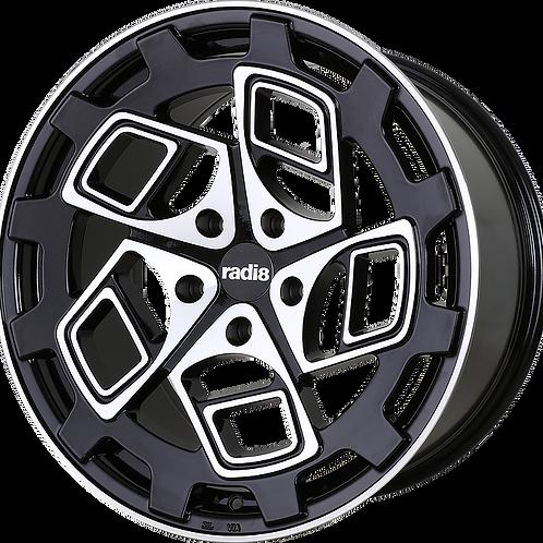 Radi8 R8CM9 schwarz/poliert