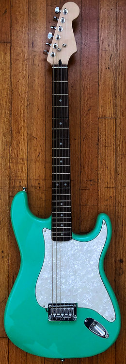 Surf Green/Pearloid Pick Guard, Hard Tail