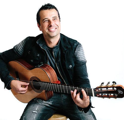 Ben Woods Flamenco  signature guitar Nylocaster