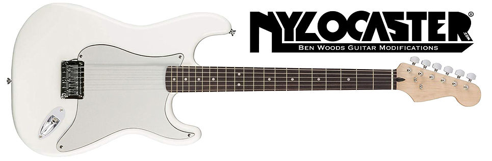 Ben Woods Nylocaster Nylon string electric guitar