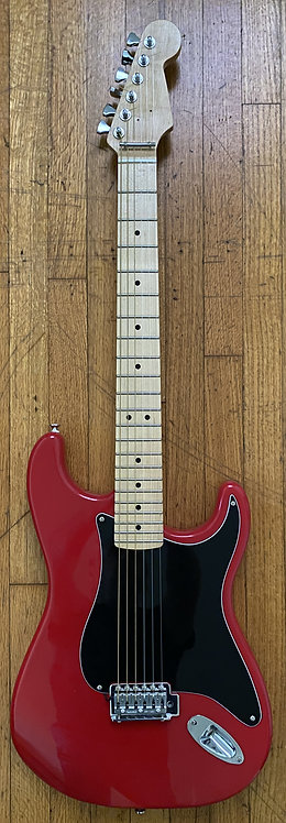 Red/Blk Tremolo, Wide Neck- Free Shipping in USA