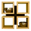 Thumbnail: Cross boekenrek