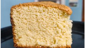 Sponge cake | Vanilla sponge cake