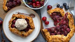 Cherry Galette | Fold It Up Pie