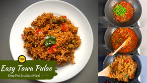 Tawa Pulao | Easy One Pot Indian Meal