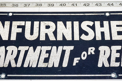 Unfurnished Apartment For Rent Sign