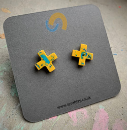 Moulded Forms Cross Studs