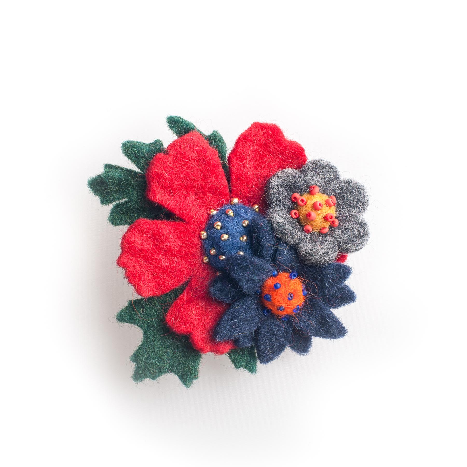 Three Flower Corsage