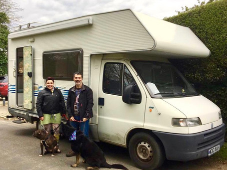 We bought a motorhome