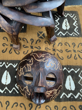 Item apart of The African Artifacts Exhibit