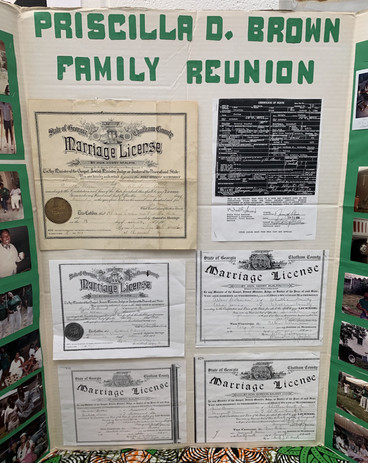 Priscilla D. Brown Family Reunion