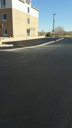 sealcoat and parking lot repair
