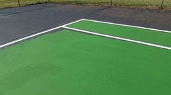 tennis court striping