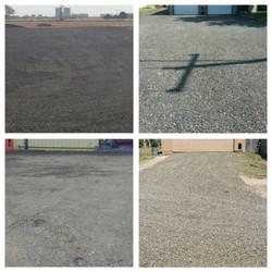 driveway repair asphalt millings