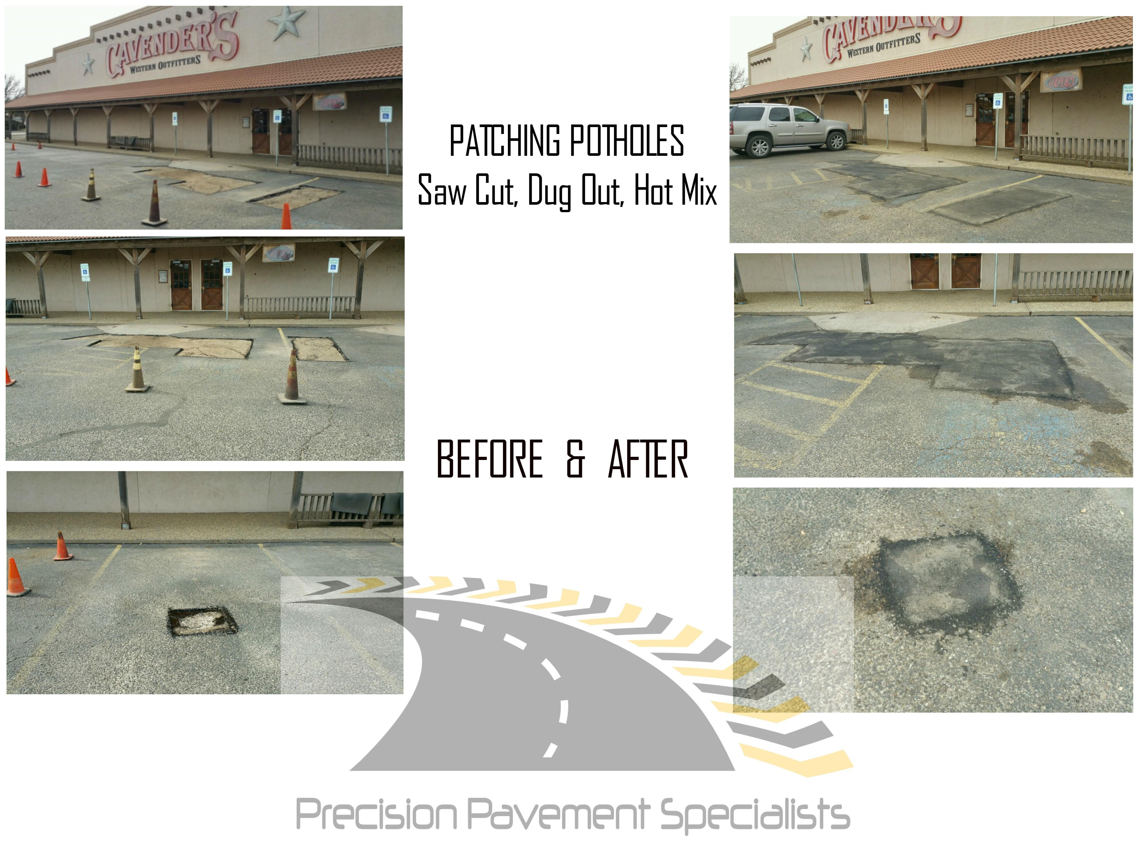 cavenders asphalt patching