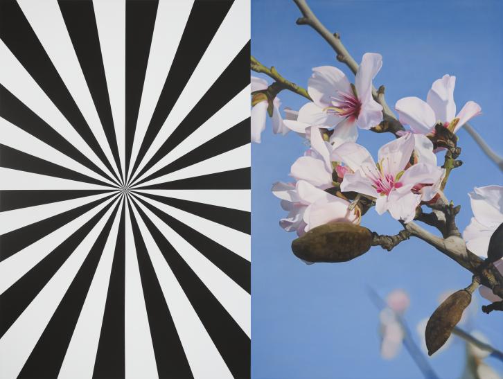Exstacy Almond Blossom 13 (L) REVERSE, 2007