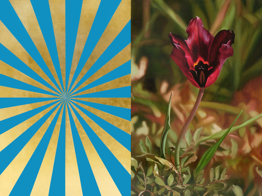Cyprus Black Tulip 5 and Turquoise and Gold Expander (M), 2013