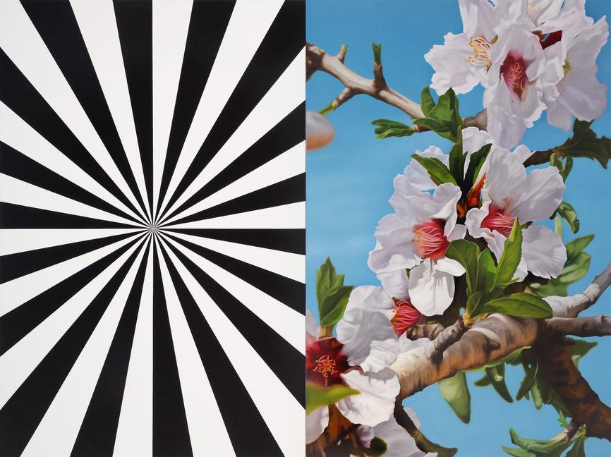 Exstacy Almond Blossom 3 (L) REVERSE, 2007