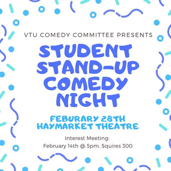 Student Stand-Up Comedy