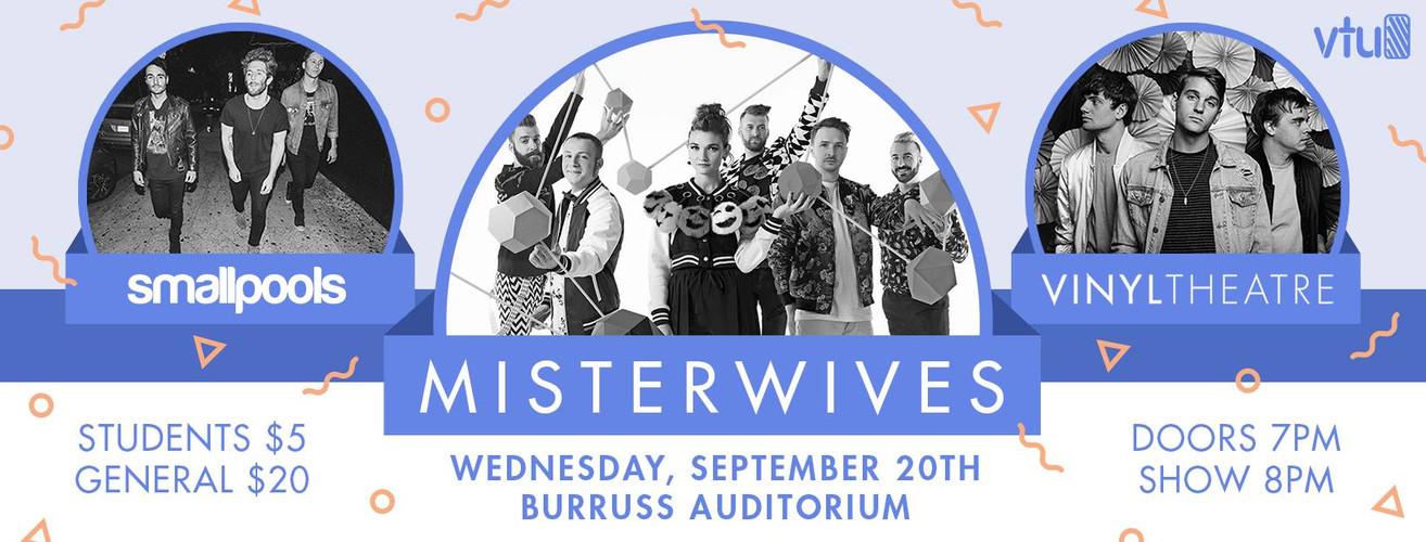 Misterwives, Smallpools, & VinylTheater