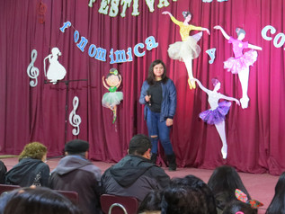 ¡El gran festival escolar de Talentos!