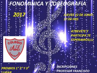 Festival de la voz, fonomímica y coreografía (nueva fecha 27 de julio)