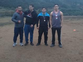 ¡El colegio Alonso de Ercilla, en las Provinciales de Atletismo!