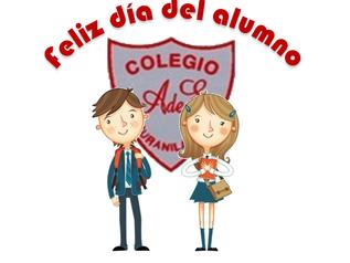 Día del alumno, jueves 11 de mayo