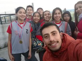 ¡El Colegio Alonso de Ercilla en el Campeonato Comunal de Atletismo!
