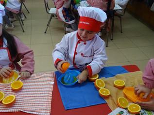 Taller de Cocina Saludable en Pre-Kinder