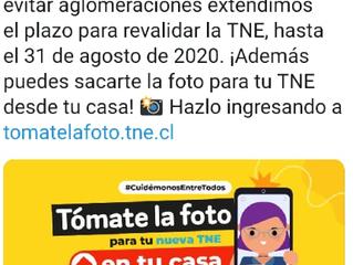 ¡¡¡Atención!!! TNE 2020