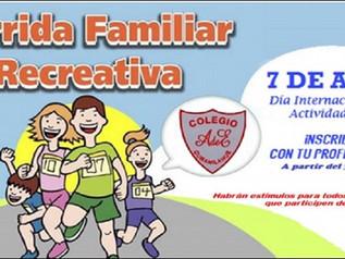 1° CORRIDA ESTUDIANTIL/FAMILIAR CAE