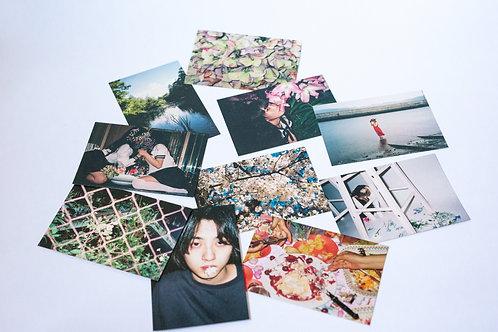 film postcard「てぐせ」10枚セット