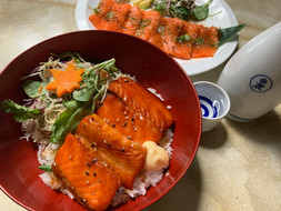 NZ Salmon and Sake