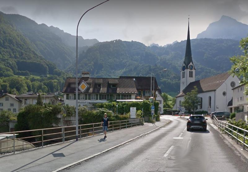Brücke Übegang Mollis