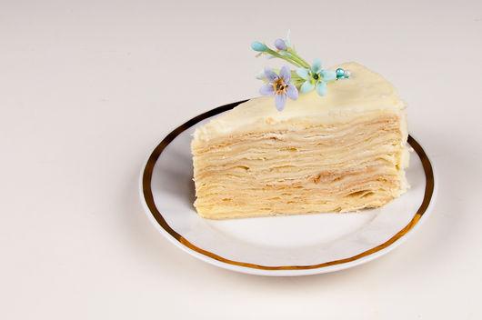 Торт Наполеон разрез