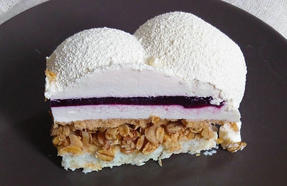 Муссовый торт Облако разрез