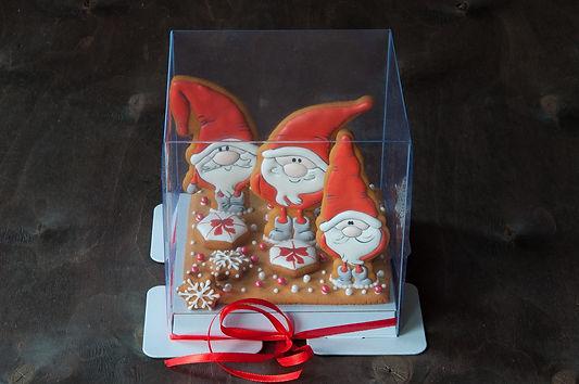 Пряничный набор новогодний Гномы