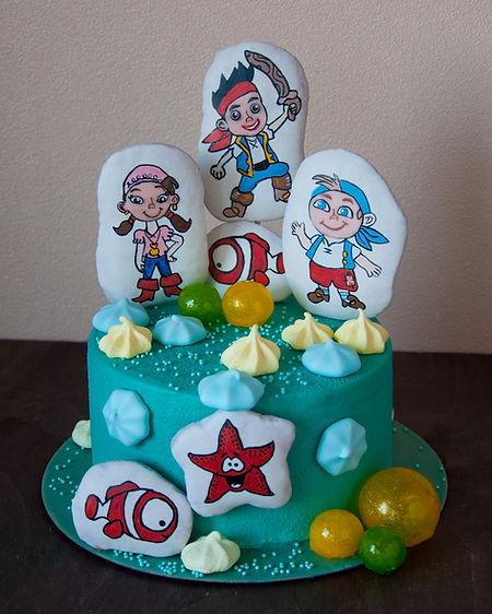 Торт Радужный бисквит